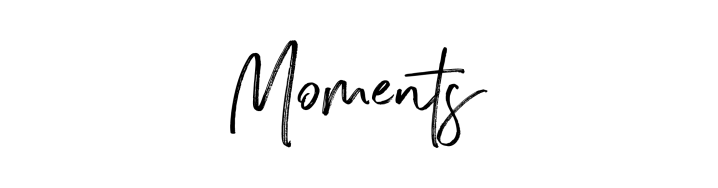 A Letter to my Past, Present, and Future Self: Moments are Fleeting